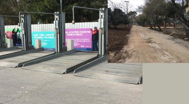 İBB, Kartal Atatürk Parkı'nda Yenileme Çalışmalarına Başladı