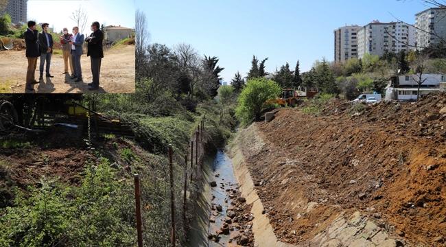 İBB ve Kartal Belediyesi'den, Balcı Deresi'nde Temizlik ve Bakım Çalışması