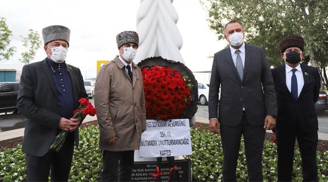 Çerkes Soykırımı'nda Hayatını Kaybedenler, 157.Yılında Kartal'da Anıldı