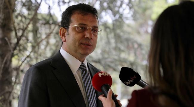 """İmamoğlu """"Ona Buna Para Yağdıran İştiraklerimiz Artık İstanbulluya Yardım Ediyor"""