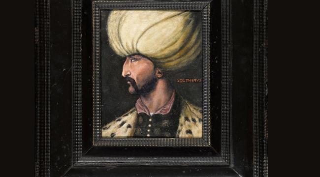 Kanuni Sultan Süleyman Portre'sini Rekor Fiyatla Alan Kişi, İBB'ye Bağışladı