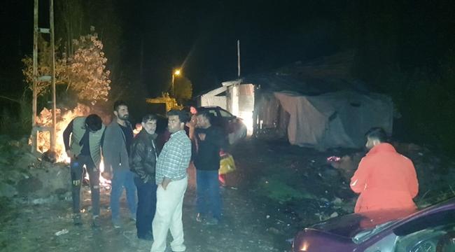 Kars'ta Bir Köy Sular Altında Kaldı!