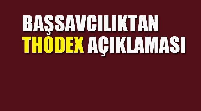 Anadolu Cumhuriyet Başsavcılığı'ndan Thodex Açıklaması