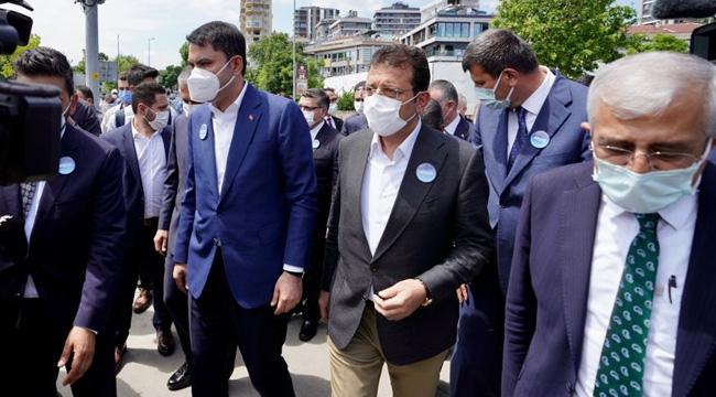 """"""" İBB ve İstanbul Valiliği Ev Sahipliğinde """"Müsila Temizliği Seferberliği Programı"""""""