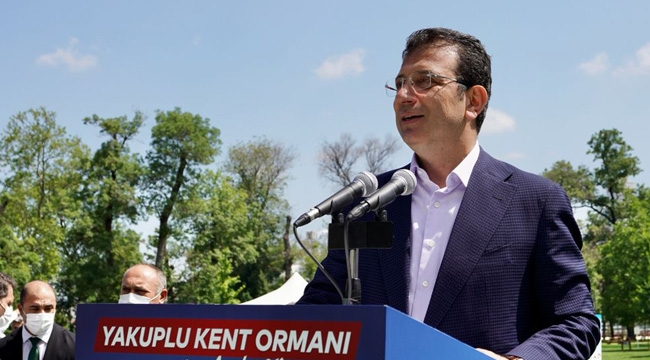 """İmamoğlu """"Beton Kanal'da Mesele Duygusal"""""""