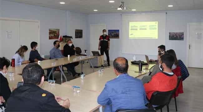 Kartal Belediyesi'nden Personele Afet Gönüllüsü Eğitimi