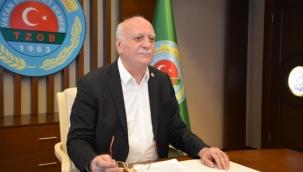 """TZOB Başkanı Bayraktar'dan Çiftçilere Çağrı """"ÇKS Kaydı Yaptırmayan Üreticilerimiz Desteklerden Yararlanamıyor"""""""