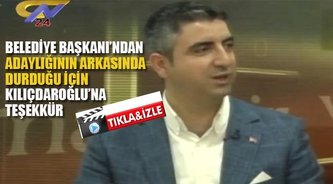 CHP'li Başkan'dan Kılıçdaroğlu'na Teşekkür