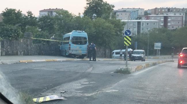 İstanbul Pendik'te, Minibüse Şoförü'ne Silahlı Saldırı