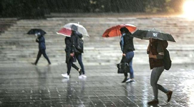 Meteoroloji'den Gök Gürültülü Sağnak Yağış Uyarısı
