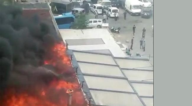 Kartal'da Balık Restoranda Yangın