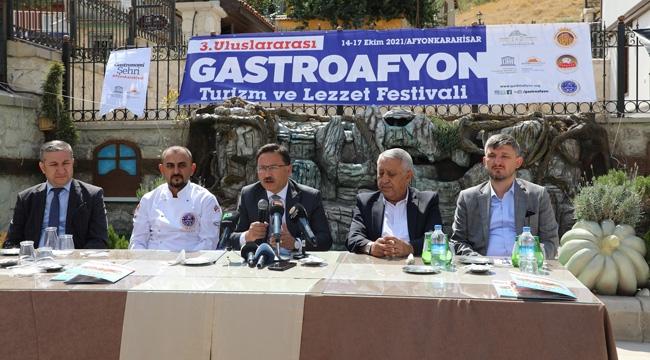 Afyon 3. Turizm ve Lezzet Festivali İçin Geri Sayım Başladı