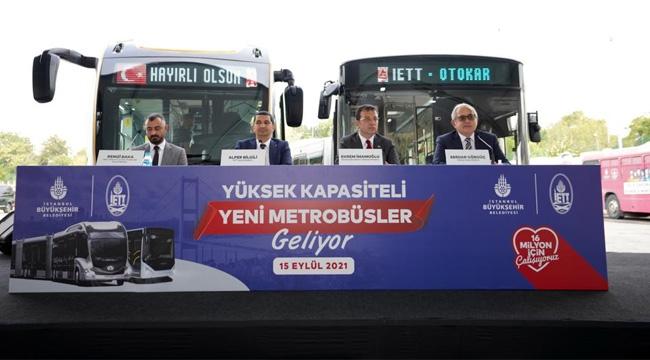 """İmamoğlu, """"300 Metrobüs Alımıyla İlgili Buradan Sesleniyorum İstanbulluyu Mağdur Etmeyin"""""""