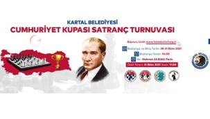 """Kartal Belediyesi'nden """"Cumhuriyet Kupası Satranç Turnuvası"""""""