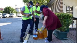 Tuzla Belediyesi'nden, Atık Yağ Biriktirene Temizlik Seti Kampanyası